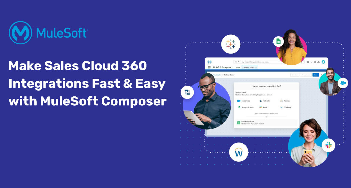 Make Sales Cloud 360 Integrations Fast and Easy with MuleSoft Composer